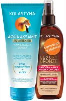 KOLASTIN - Sunbathing set - Moisturizing sorbet 200 ml + GIFT - Self-tanning body mist 150 ml