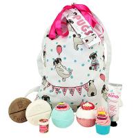 Bomb Cosmetics - Wash Bag Gift Pack - Gift set - Pugs & Kisses