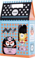 YOPE - Zestaw upominkowy dla dzieci - Mydło do rąk Kokos i Mięta 400 ml + Żel pod prysznic Żurawina i Lawenda 400 ml