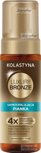KOLASTYNA - LUXURY BRONZE - Samoopalająca pianka do ciała - 150 ml