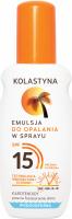 KOLASTYNA - Tanning lotion spray - SPF15 - 150 ml