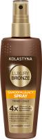 KOLASTYNA - LUXURY BRONZE - Samoopalający spray twarz + ciało - 150 ml