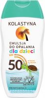 KOLASTYNA- Tanning lotion for children - SPF50 - 150 ml