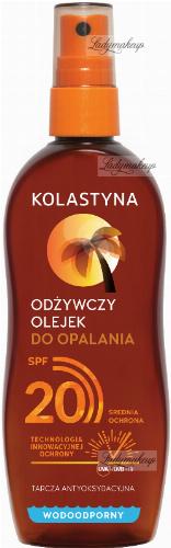 KOLASTYNA - Odżywczy olejek do opalania - SPF20 - 150 ml