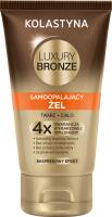 KOLASTYNA - LUXURY BRONZE - Self-tanning face and body gel - EXPRESS EFFECT - 150 ml