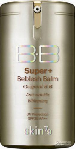 Skin79 - Super+ Beblesh Balm - Odżywczo-rozjaśniający krem BB - SPF 30 PA++ VIP Gold